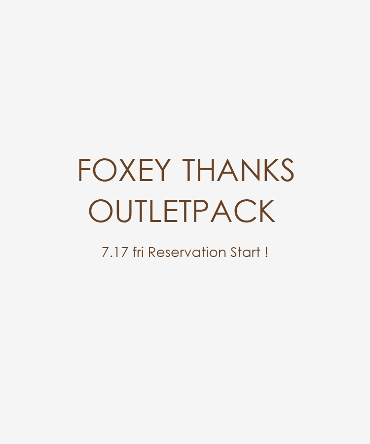 FOXEY THANKS OUTLETPACK